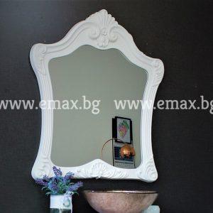 Огледало за баня с ПВЦ рамка Гала 84 см