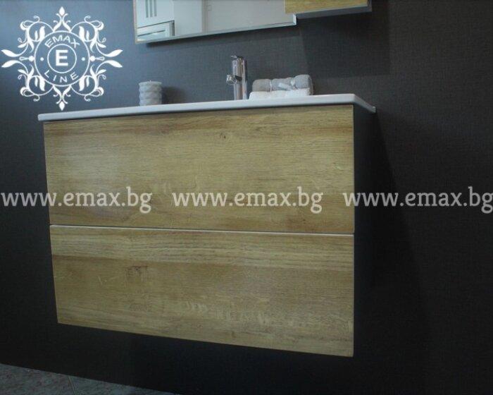 дървесен PVC шкаф