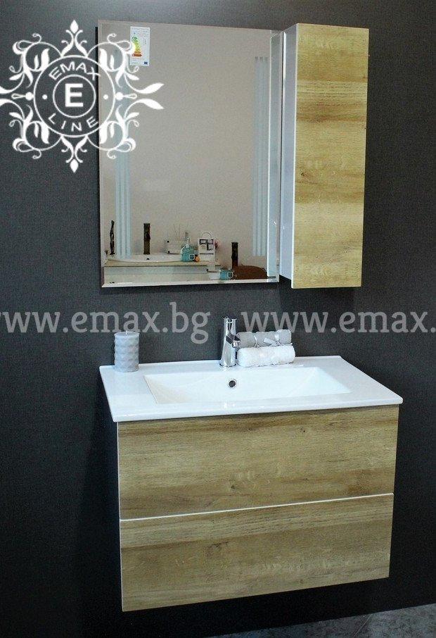 дървесен комплект баня