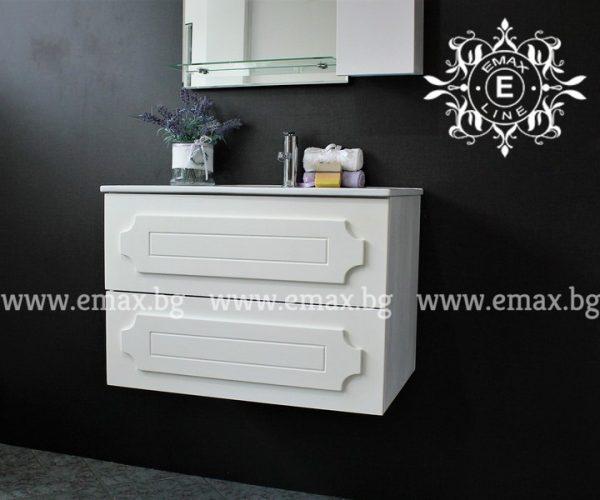 Романтик 3 – водоустойчив ПВЦ долен шкаф за баня 60 см