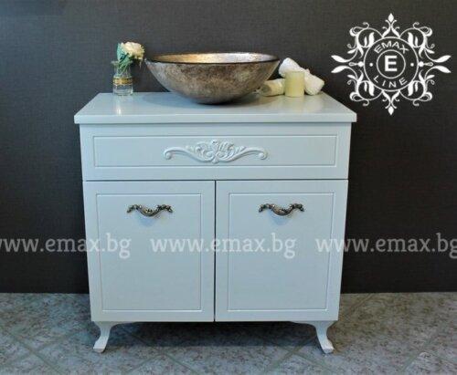 мивка с шкаф за баня