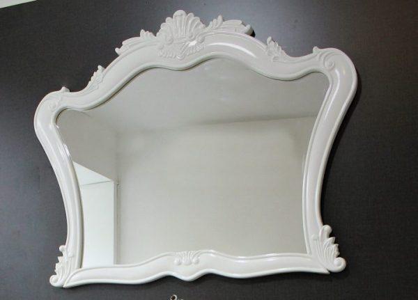 Огледало за баня с ПВЦ рамка Венеция 112 см