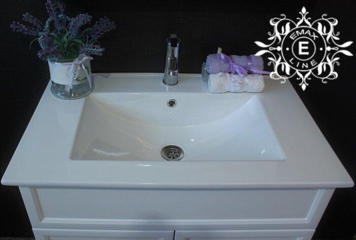 шкаф за баня с мивка 80 см