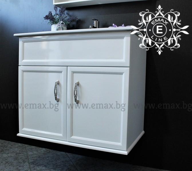 шкаф за баня с мивка пвц