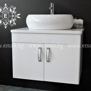 Модера 2 – водоустойчив ПВЦ шкаф за мивка баня 70 см