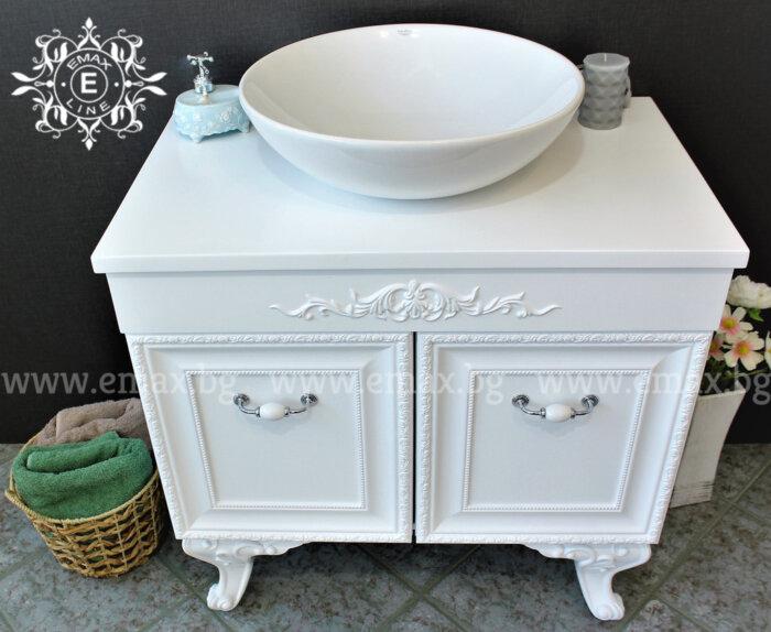 мивка и шкаф за баня