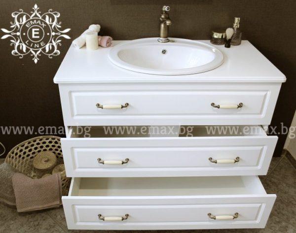 шкаф мивка за баня пвц