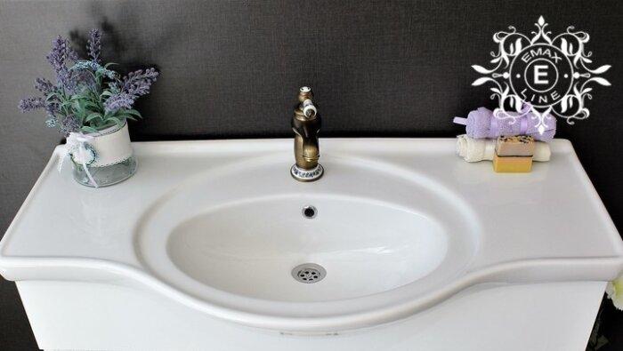 голяма мивка за баня