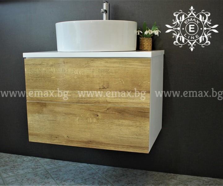 Дървесен ПВЦ шкаф