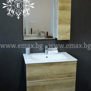 комплект горен и долен шкаф за баня