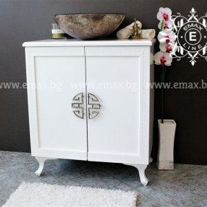 Версаче - мивка с шкаф ПВЦ водоустойчив 70 см