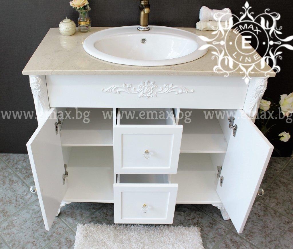 долен шкаф за баня с мивка