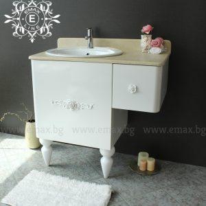 мивка със шкаф за баня