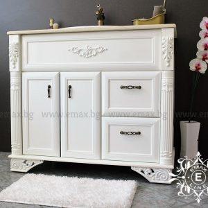 шкаф за баня с мивка италиански