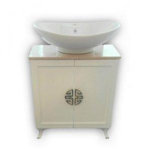 Версаче - мивка с шкаф ПВЦ водоустойчив 70 см Промоция