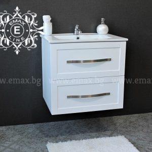 Комфорт 2 – PVC шкаф за мивка за баня 60 см