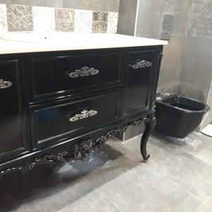 италиански шкафове за баня пвц