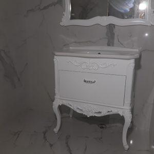 италиански шкафове за баня пвц мивка