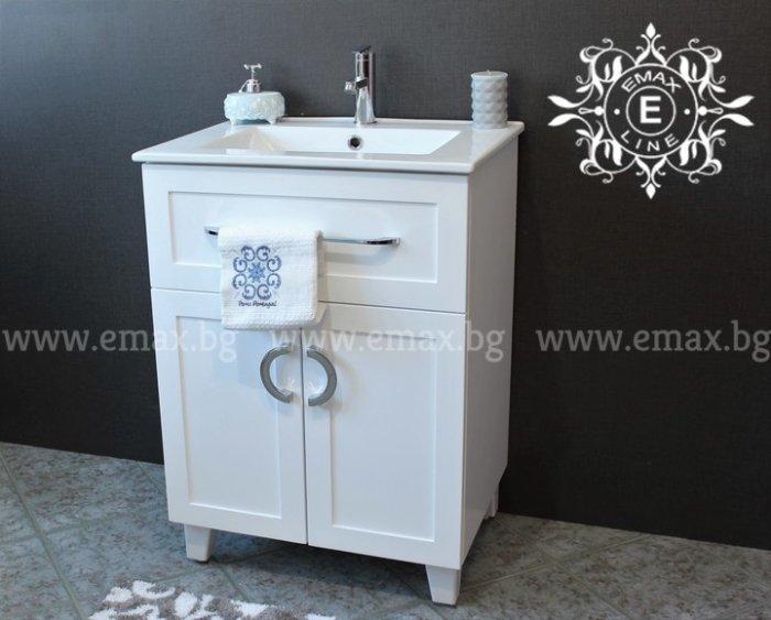 шкаф с мивка за баня ПВЦ