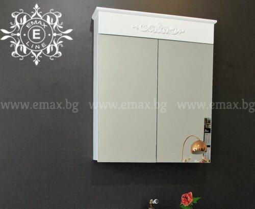 Горен шкаф за баня PVC