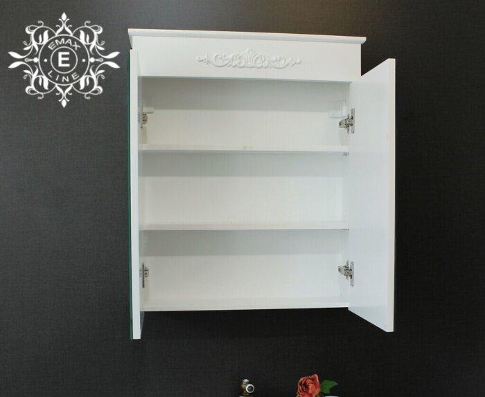 Горен шкаф за баня PVC с орнамент