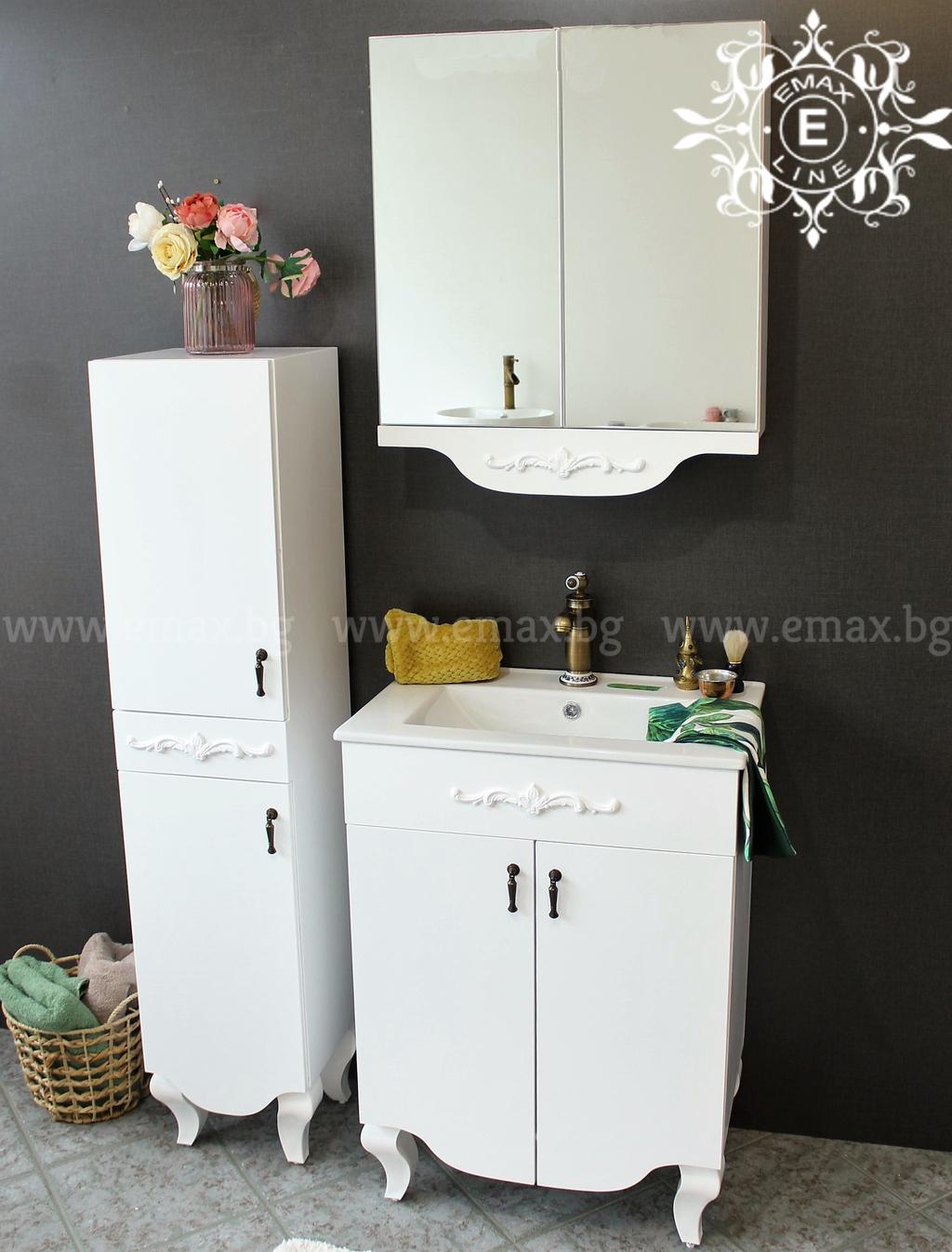 Комплект мебели за баня с колона