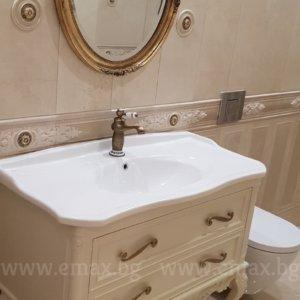 луксозен шкаф за баня с мивка