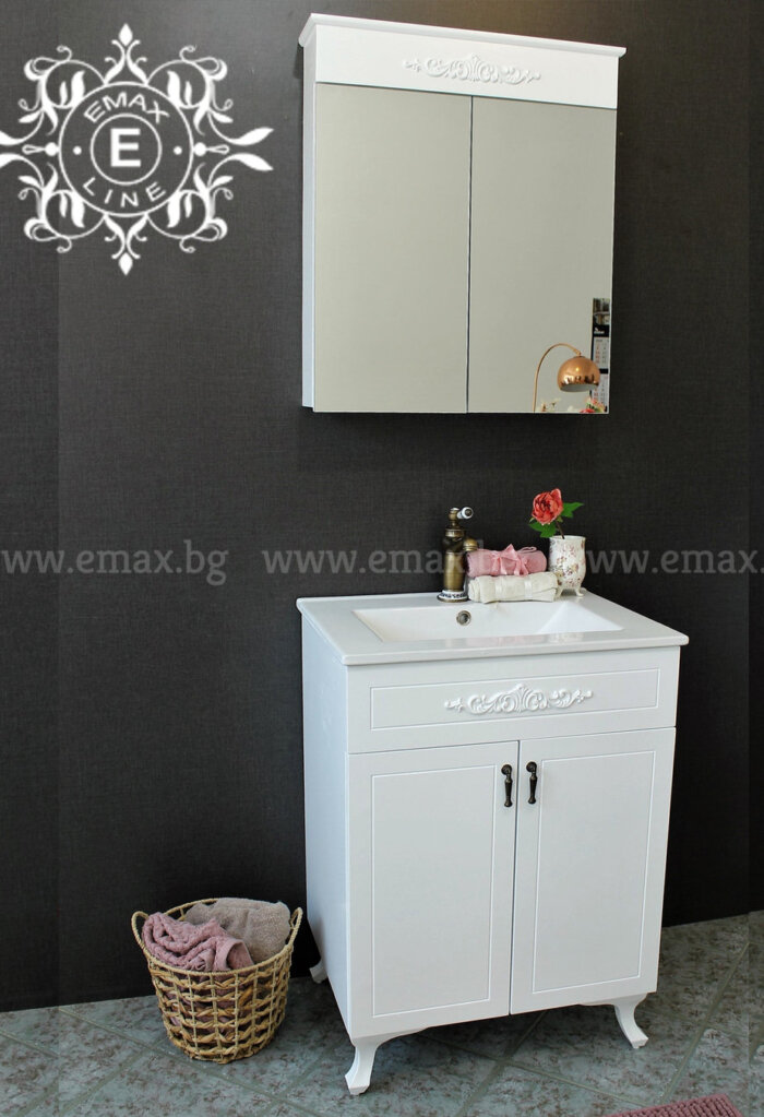 Комплект ПВЦ мебели за баня Романтик