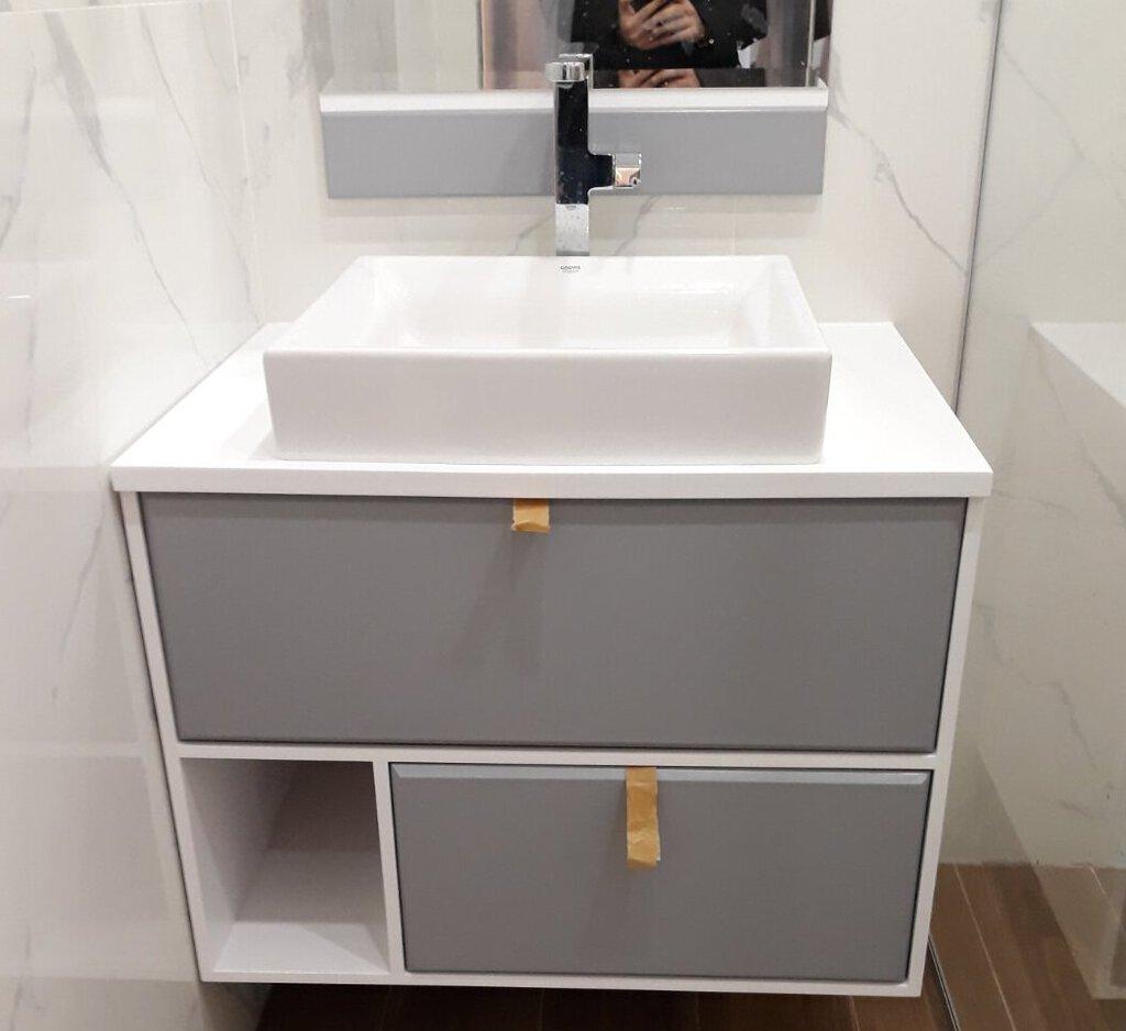 долен шкаф за баня 55 см