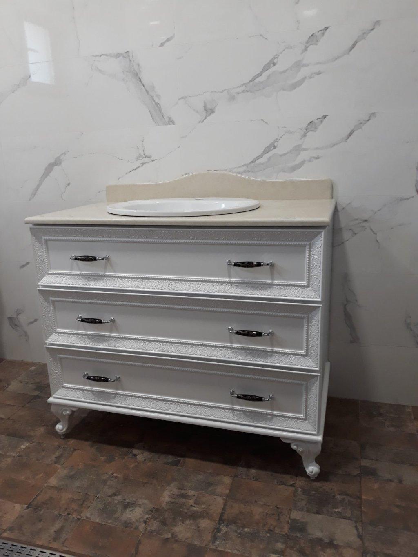 долен шкаф за баня на крачета