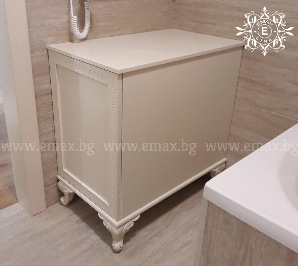 долен шкаф за баня пвц на крачета