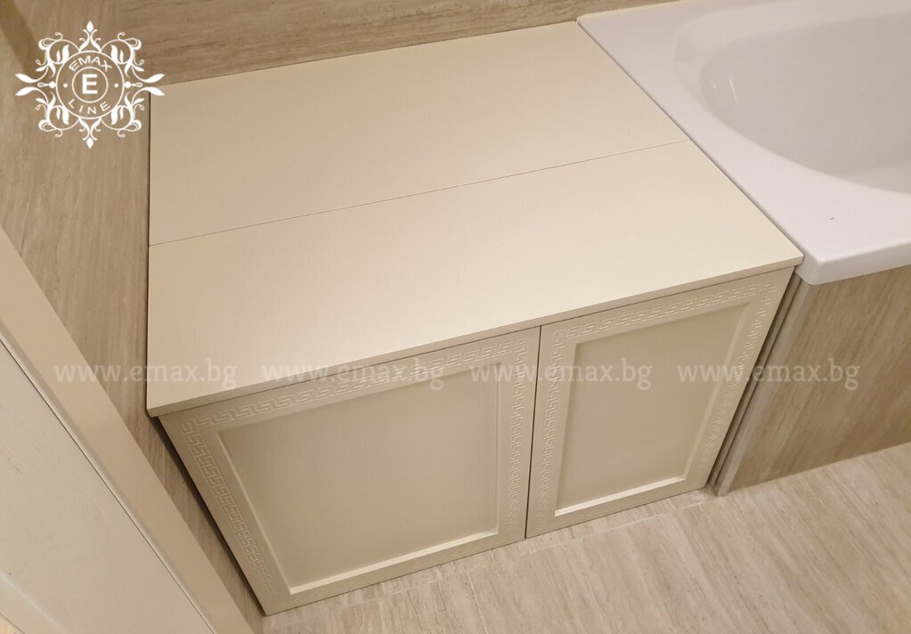 долен шкаф за баня пвц за ревизия
