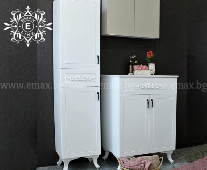 комплект шкафове за баня