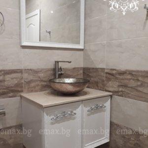 конзолен шкаф за баня пвц стенен