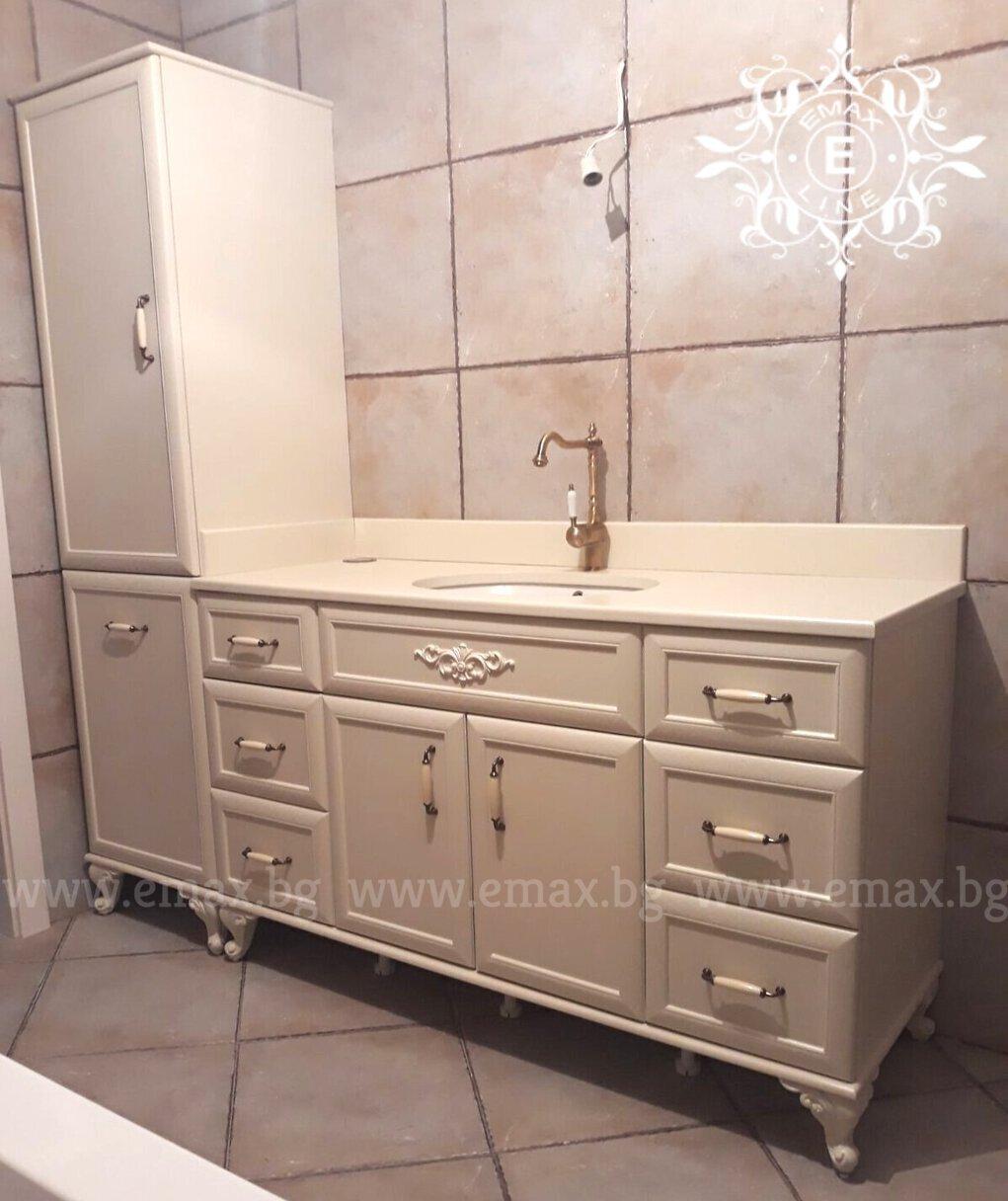 луксозни долни шкафове за баня пвц