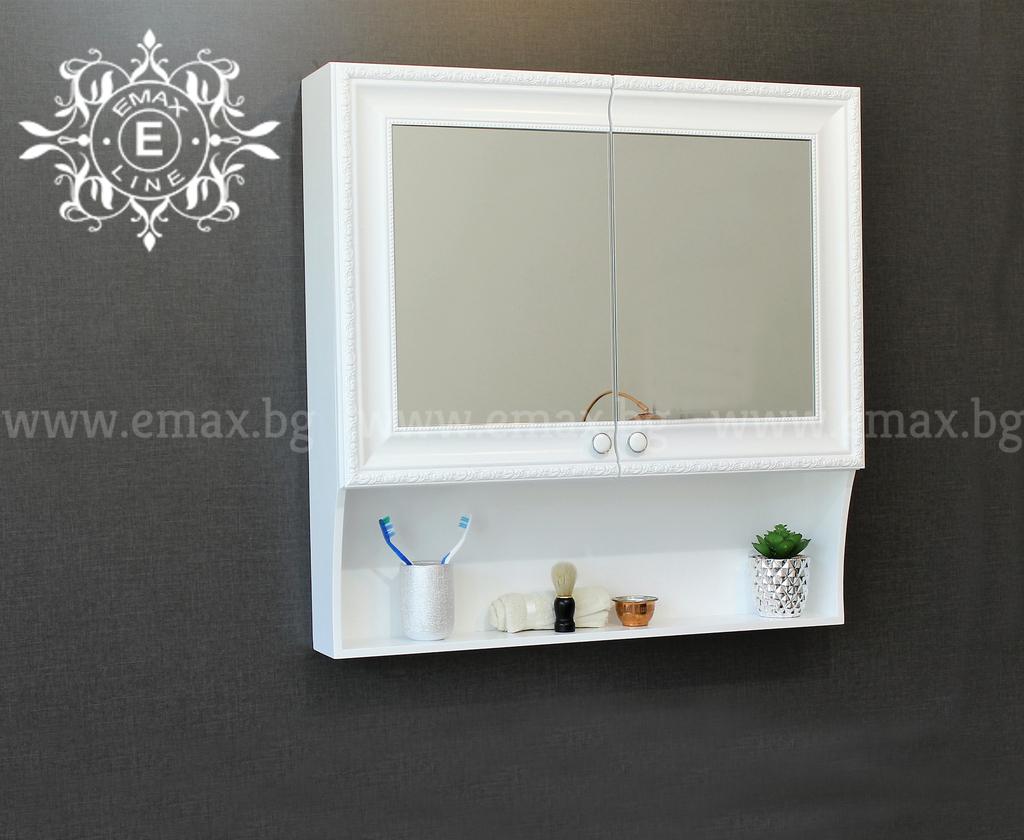 огледален шкаф за баня пвц