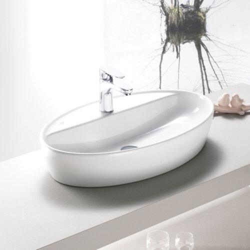 мивка за баня One елипса с отвор за смесител