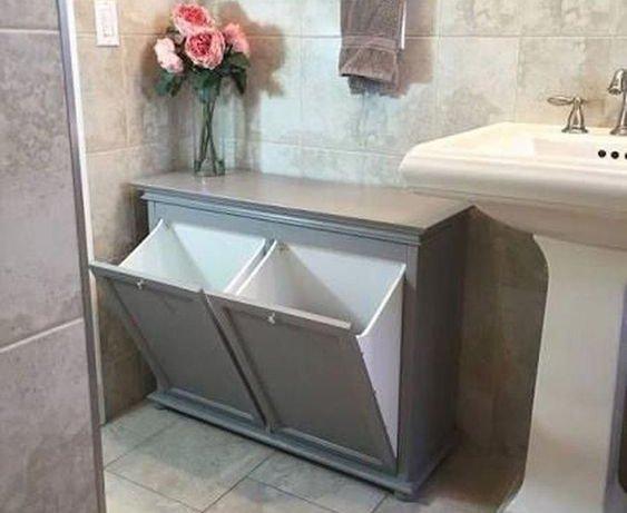 долен шкаф за баня без мивка