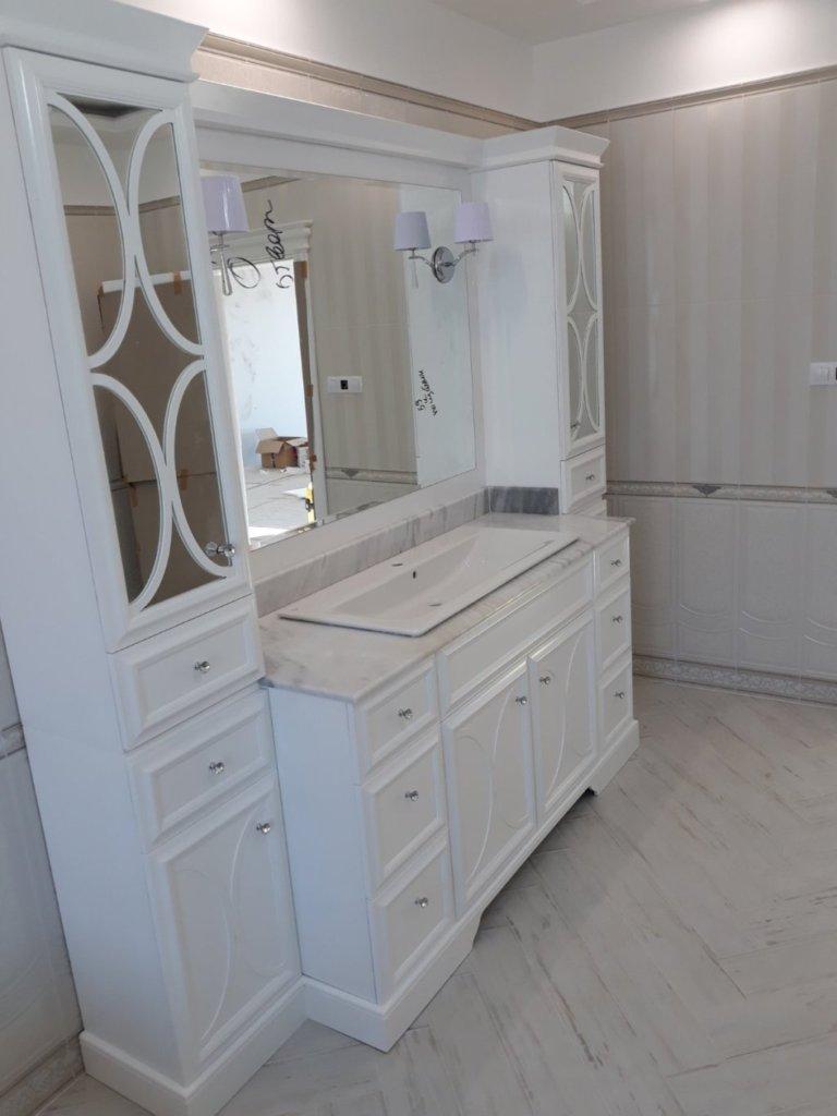 мебели за баня по поръчка Варна