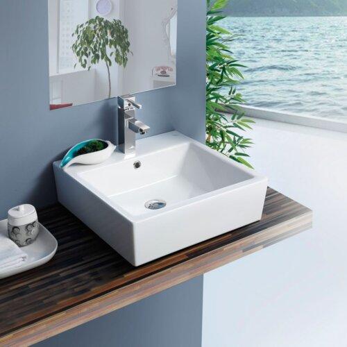 Мивка за баня Mona D 48 см