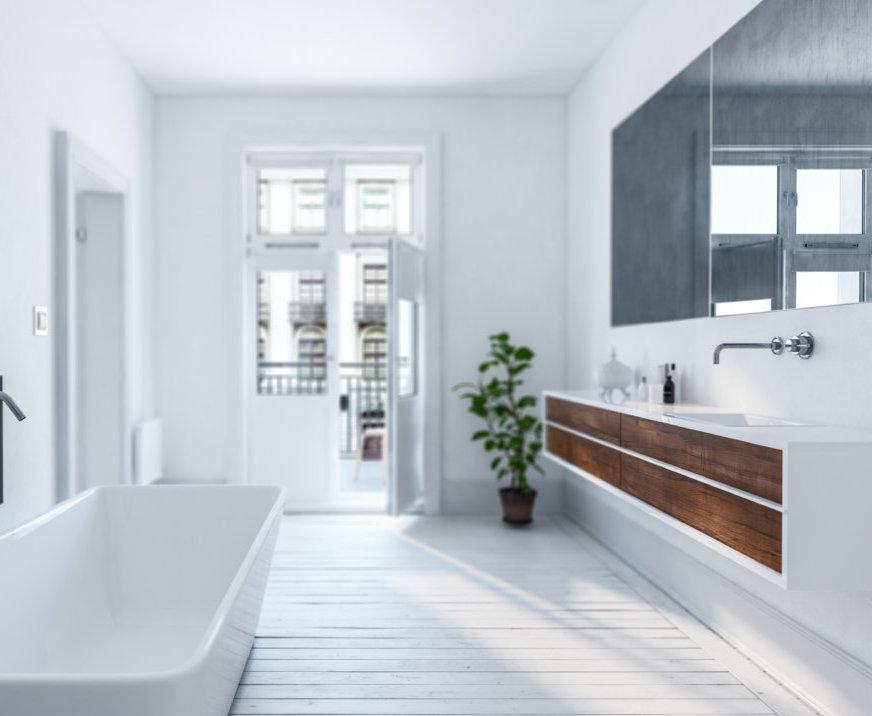 ПВЦ шкафове за баня