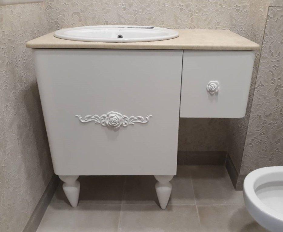 долен шкаф за баня 90 см
