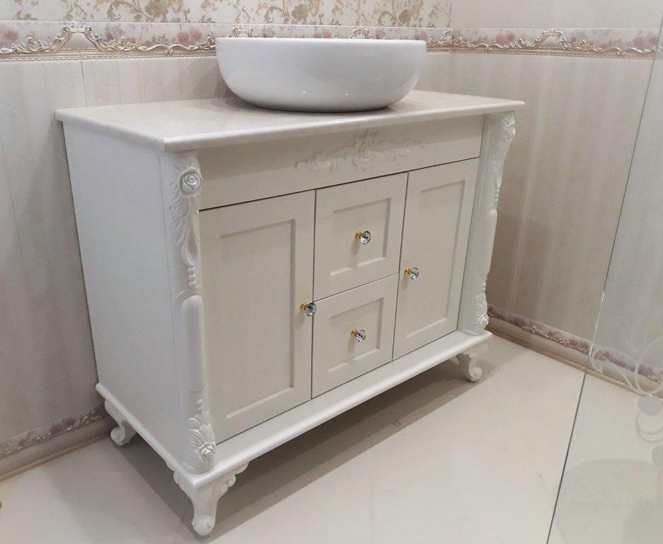 Шкафове за баня с мивка