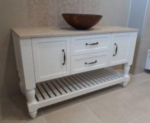мивки за баня с шкаф