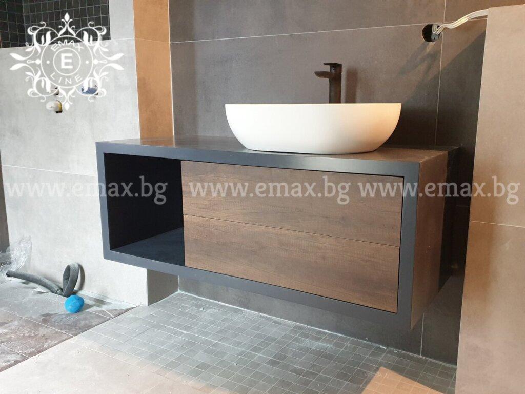 шкафове за баня по поръчка Пловдив
