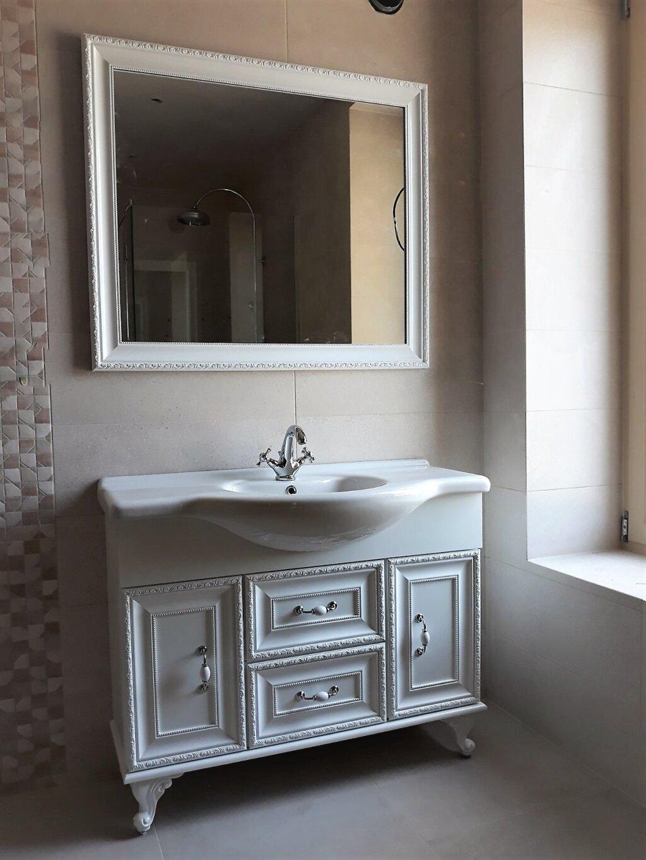 луксозен шкаф за баня пвц