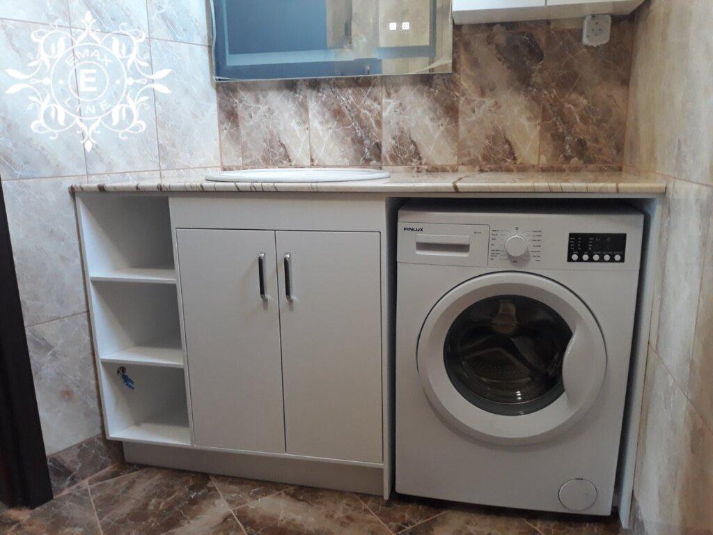 пералня в пвц шкаф за баня